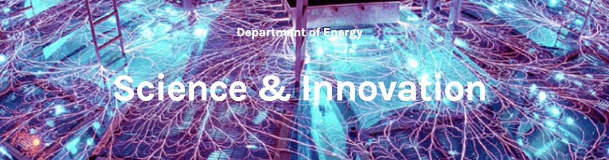 Science & Innovation logo US Dept. of Energy